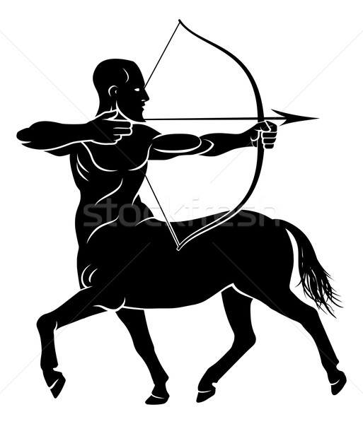 Stylised Centaur Archer Stock photo © Krisdog