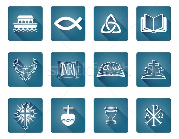 Christian Icons Stock photo © Krisdog