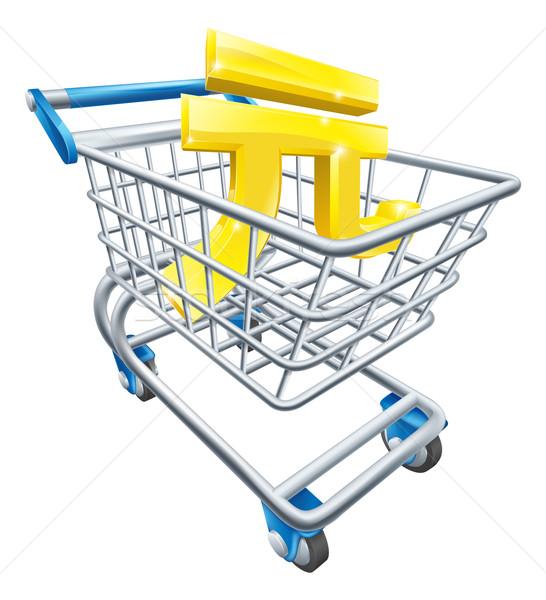 Yuan currency shopping cart Stock photo © Krisdog