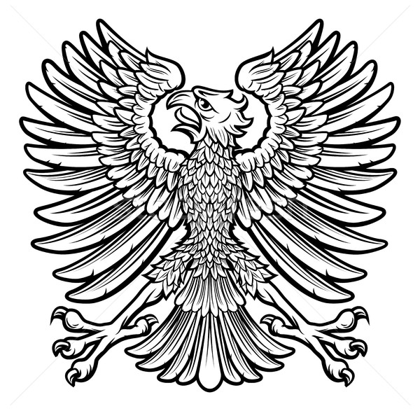 Imperial Style Eagle Stock photo © Krisdog