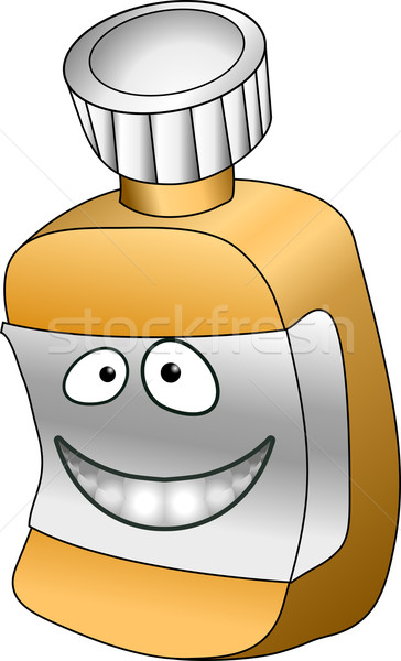 pill bottle illustration Stock photo © Krisdog