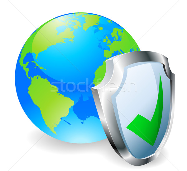 Internet security concept Stock photo © Krisdog