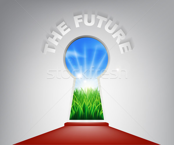The Future Keyhole Concept Stock photo © Krisdog