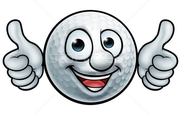 Golf Ball Mascot Stock photo © Krisdog
