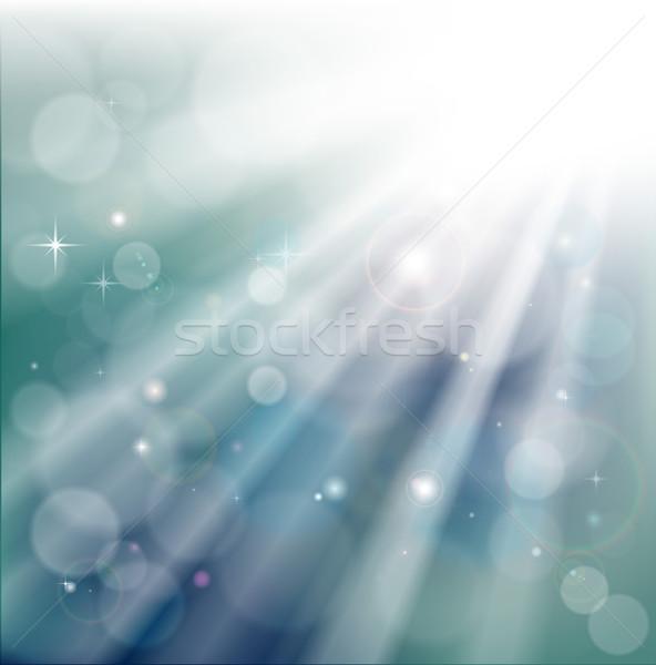 Bokeh ışık rays etki star Stok fotoğraf © Krisdog