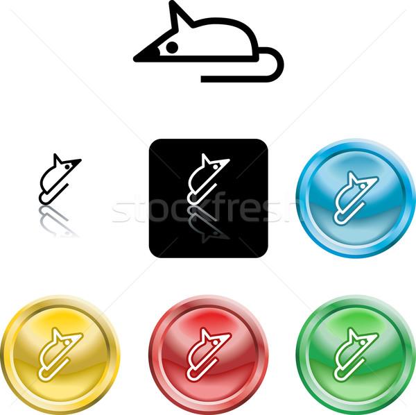 mouse symbol icon Stock photo © Krisdog