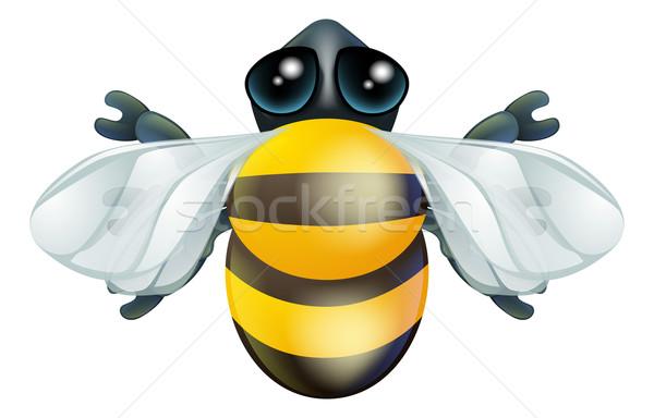 Rajz méh rovar karakter illusztráció rovar Stock fotó © Krisdog