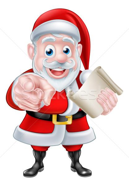 Stock foto: Weihnachten · Illustration · glücklich · Karikatur