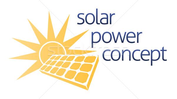 Solar Concept Stock photo © Krisdog