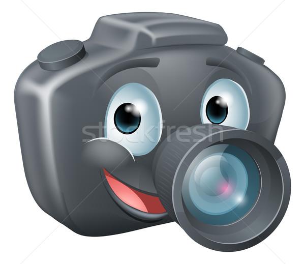 DSLR camera mascot character Stock photo © Krisdog