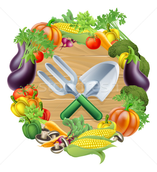 Stock photo: Gardening Produce Concept