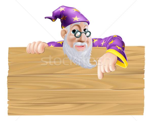 Wizard Signboard Stock photo © Krisdog