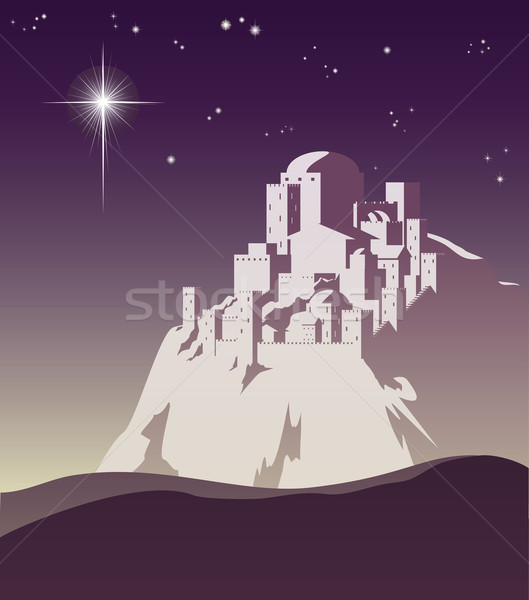 Star over Bethlehem Stock photo © Krisdog