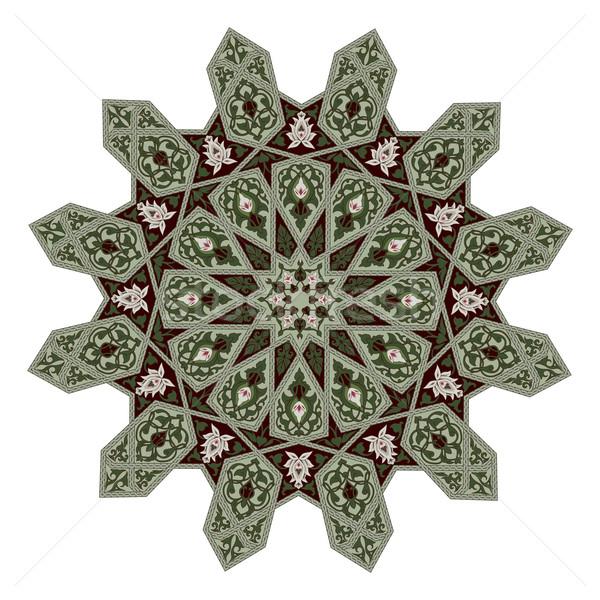 Floral Muster Motiv arabisch Stock foto © Krisdog