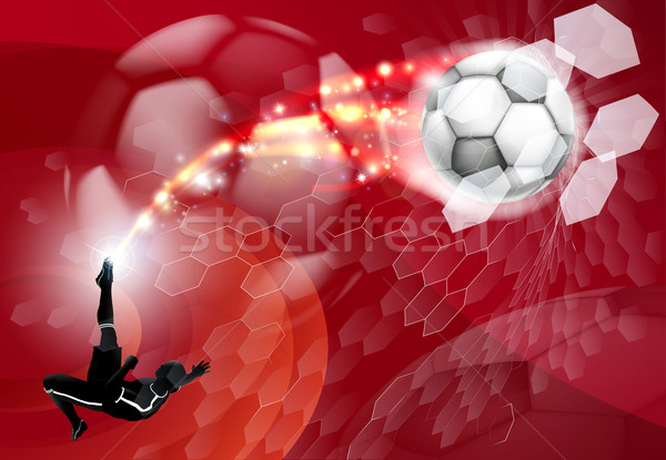 Abstract Soccer Sport Background Stock photo © Krisdog