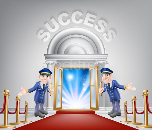 Success Red Carpet Entrance Stock photo © Krisdog