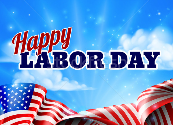 Happy Labor Day Poster Stock photo © Krisdog
