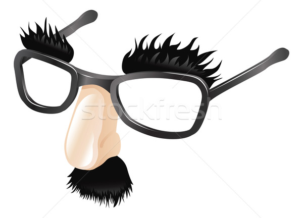 Funny disguise illustration Stock photo © Krisdog