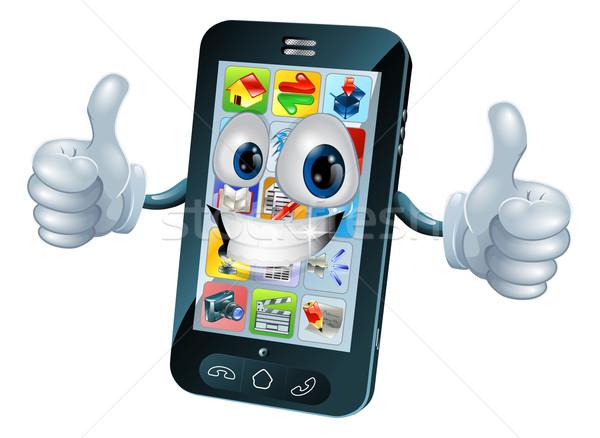 Fericit · Telefon · Mobil · Mascota · Negru · Desen