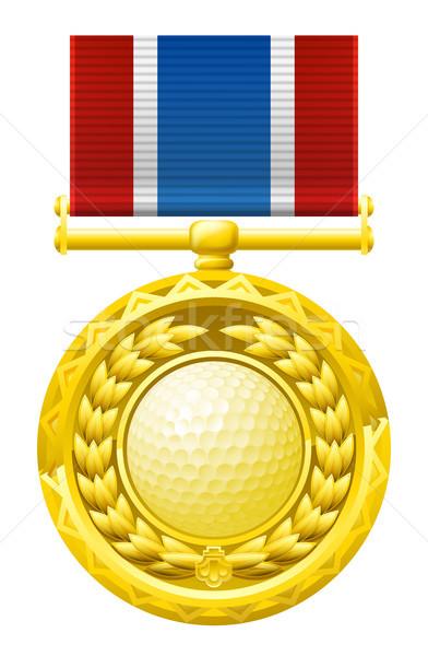 Golf medal Stock photo © Krisdog