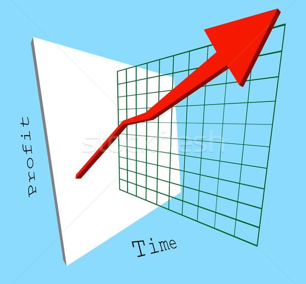 profits are up! Stock photo © Krisdog
