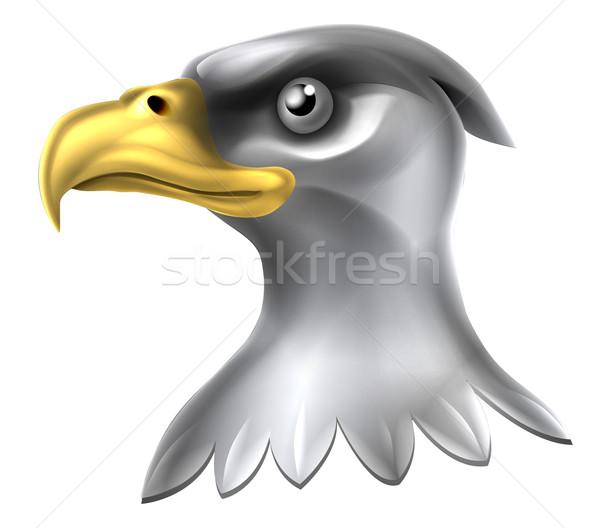 Eagle Head Design Stock photo © Krisdog
