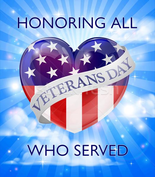 Veterans Day Design Stock photo © Krisdog