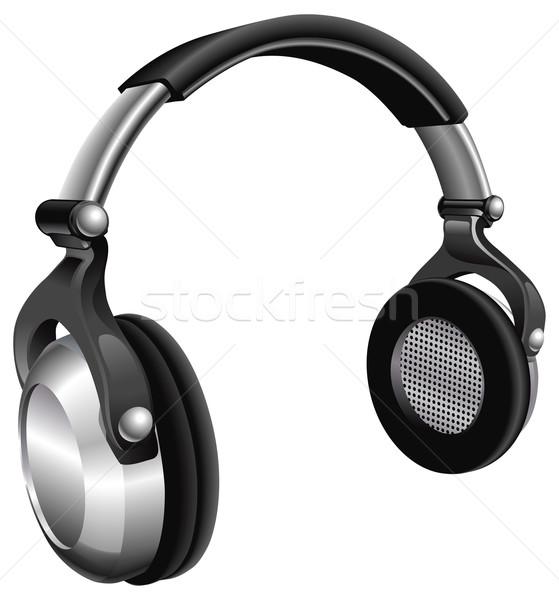 Large DJ Headphones Stock photo © Krisdog