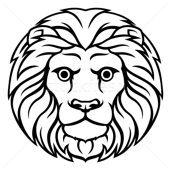 Leo Lion Zodiac Horoscope Sign Stock photo © Krisdog