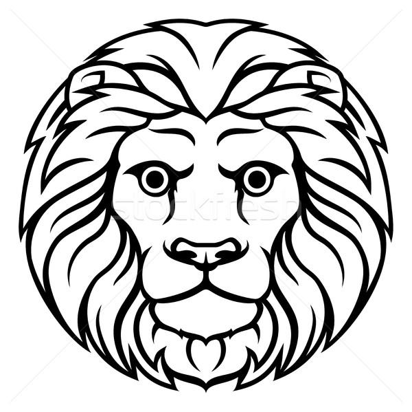 Foto stock: Leão · zodíaco · horóscopo · assinar · astrologia · sinais