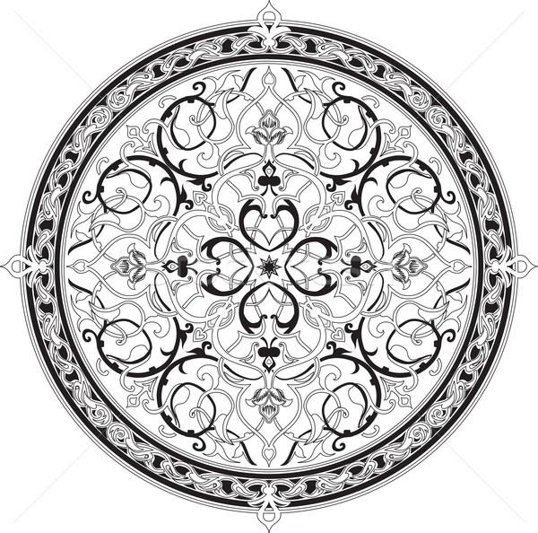 Arabisch floral Muster Motiv Natur Design Stock foto © Krisdog
