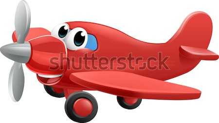 Aeroplane Illustration Stock photo © Krisdog