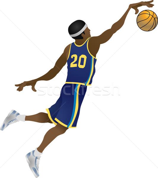 Basketball player Stock photo © Krisdog