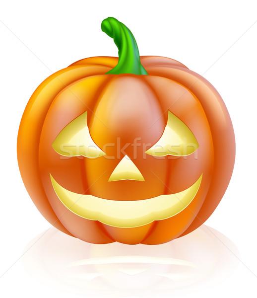 Halloween lantern pumpkin Stock photo © Krisdog