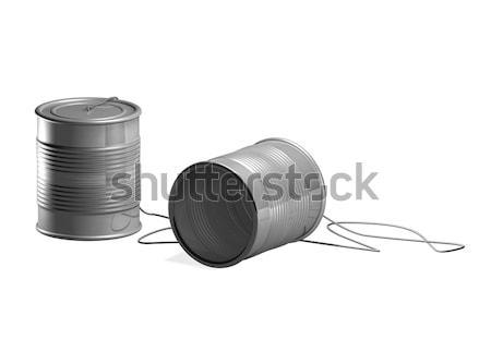tin can phone Stock photo © Krisdog