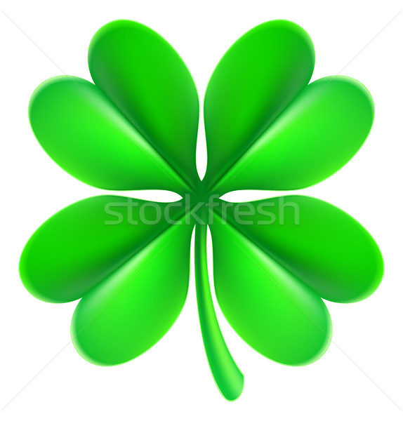 Four Leaf Clover Shamrock Stock photo © Krisdog