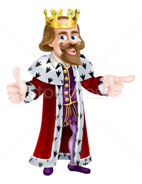 King Cartoon Person Stock photo © Krisdog