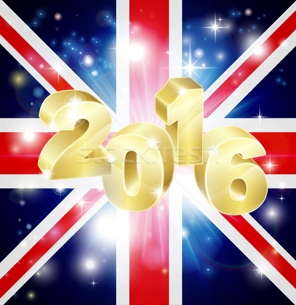 British Flag 2016 Concept Stock photo © Krisdog