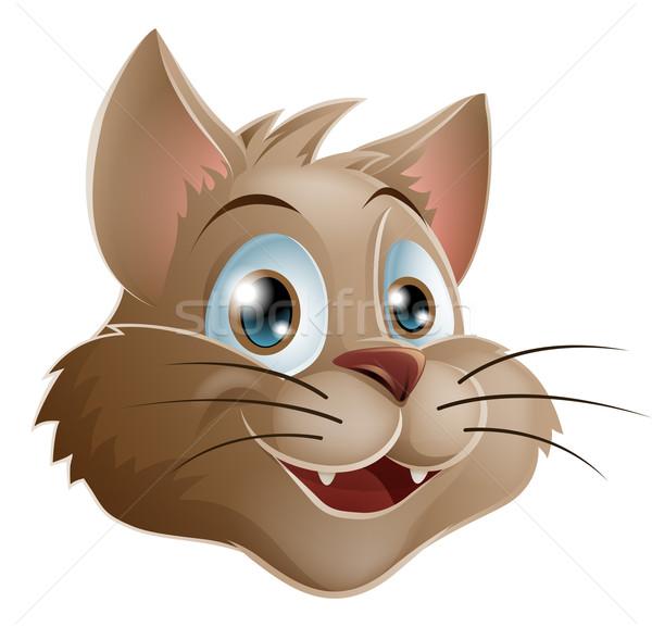 Cartoon cat Stock photo © Krisdog