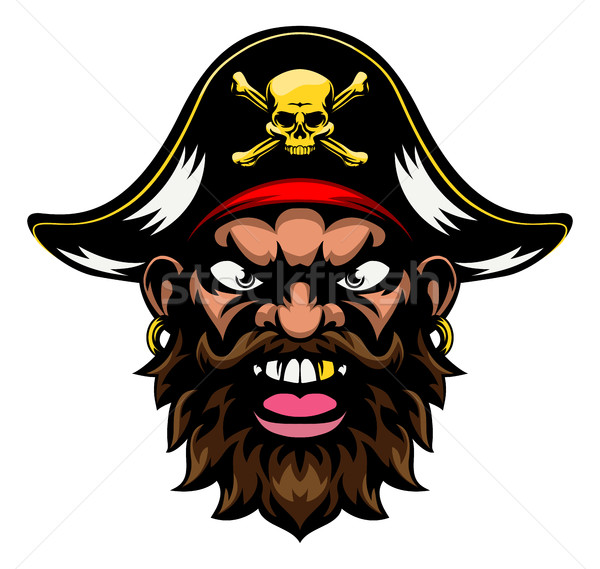 Pirate Mascot Stock photo © Krisdog