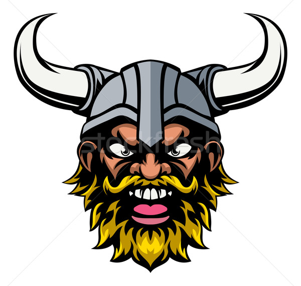 Viking Mascot Stock photo © Krisdog