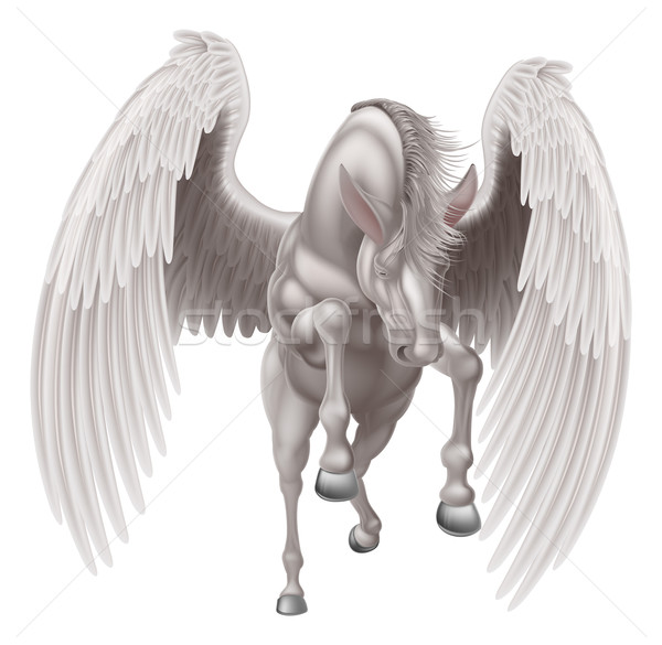 Pegasus Winged Horse Stock photo © Krisdog