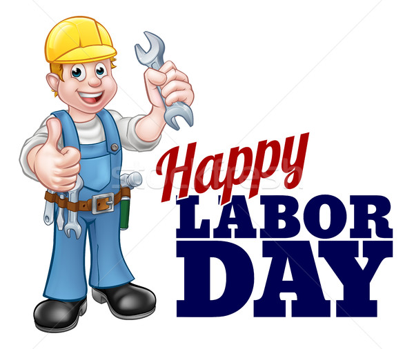 Happy Labor Day Worker Design Stock photo © Krisdog