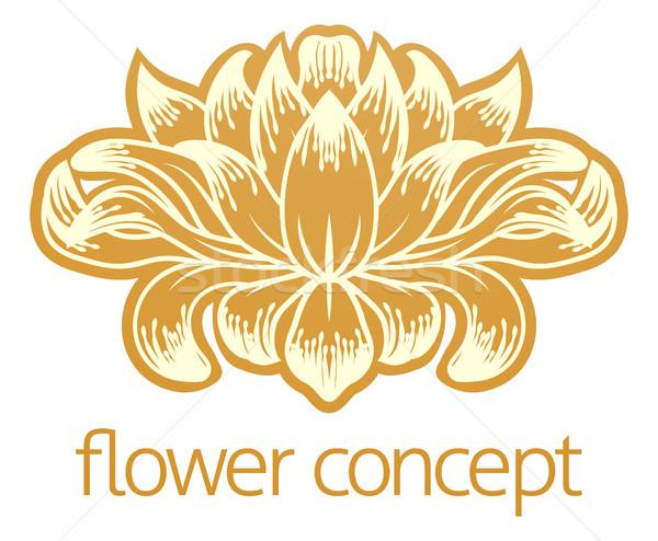 Stockfoto: Bloem · abstract · ontwerp · icon · bloemen