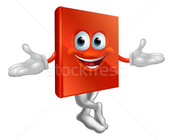 Book mascot man Stock photo © Krisdog