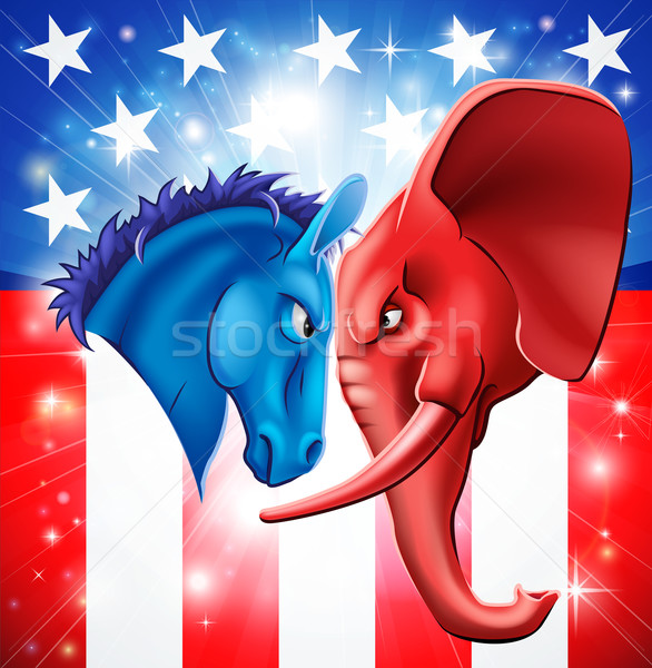 American Politics Concept Stock photo © Krisdog