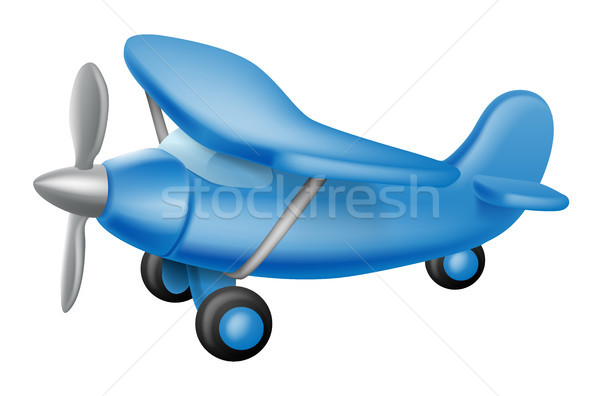 Cute little plane Stock photo © Krisdog