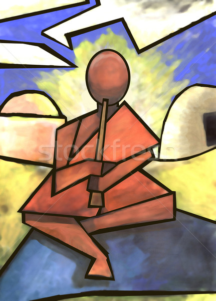 abstract musician Stock photo © Krisdog