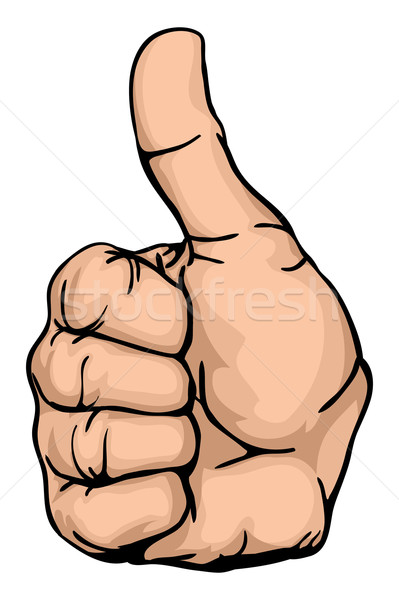 thumbs up Stock photo © Krisdog