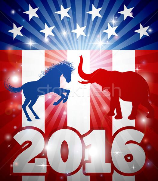 2016 American Election Concept Stock photo © Krisdog